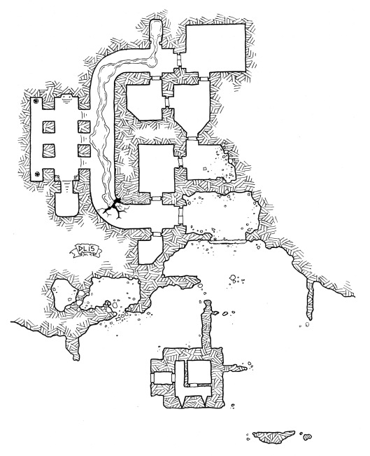 Lady White's Ruins (no grid)