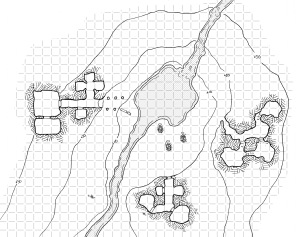Valley of the Mounds (with grid)