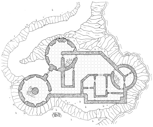 Pregello Fortress (with grid)