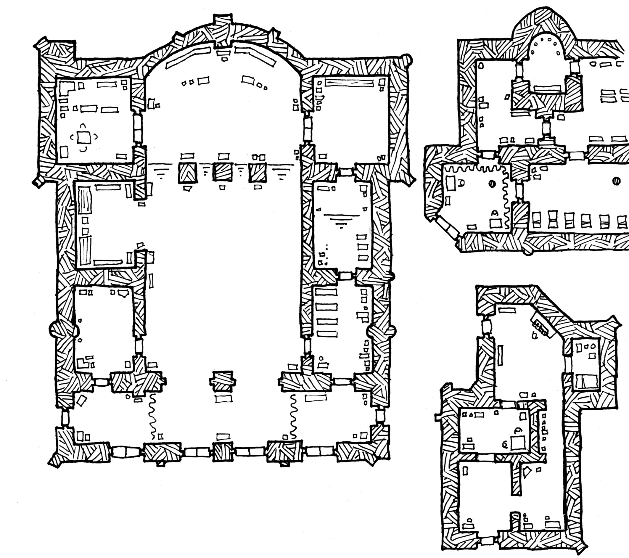 Friday Map The Temple of Marid Scurn Dysons Dodecahedron