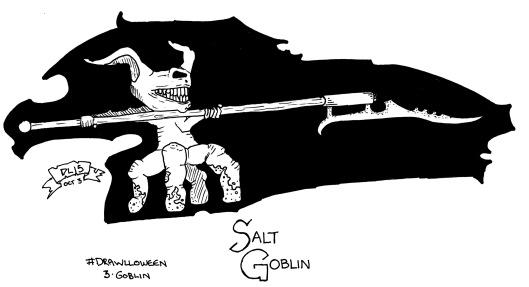 Drawlloween #3 - Goblin