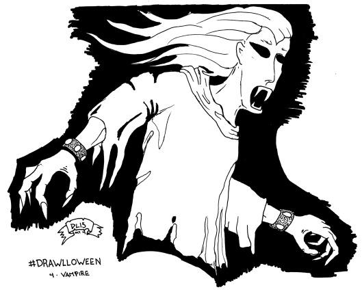 Drawlloween #4 - Vampire