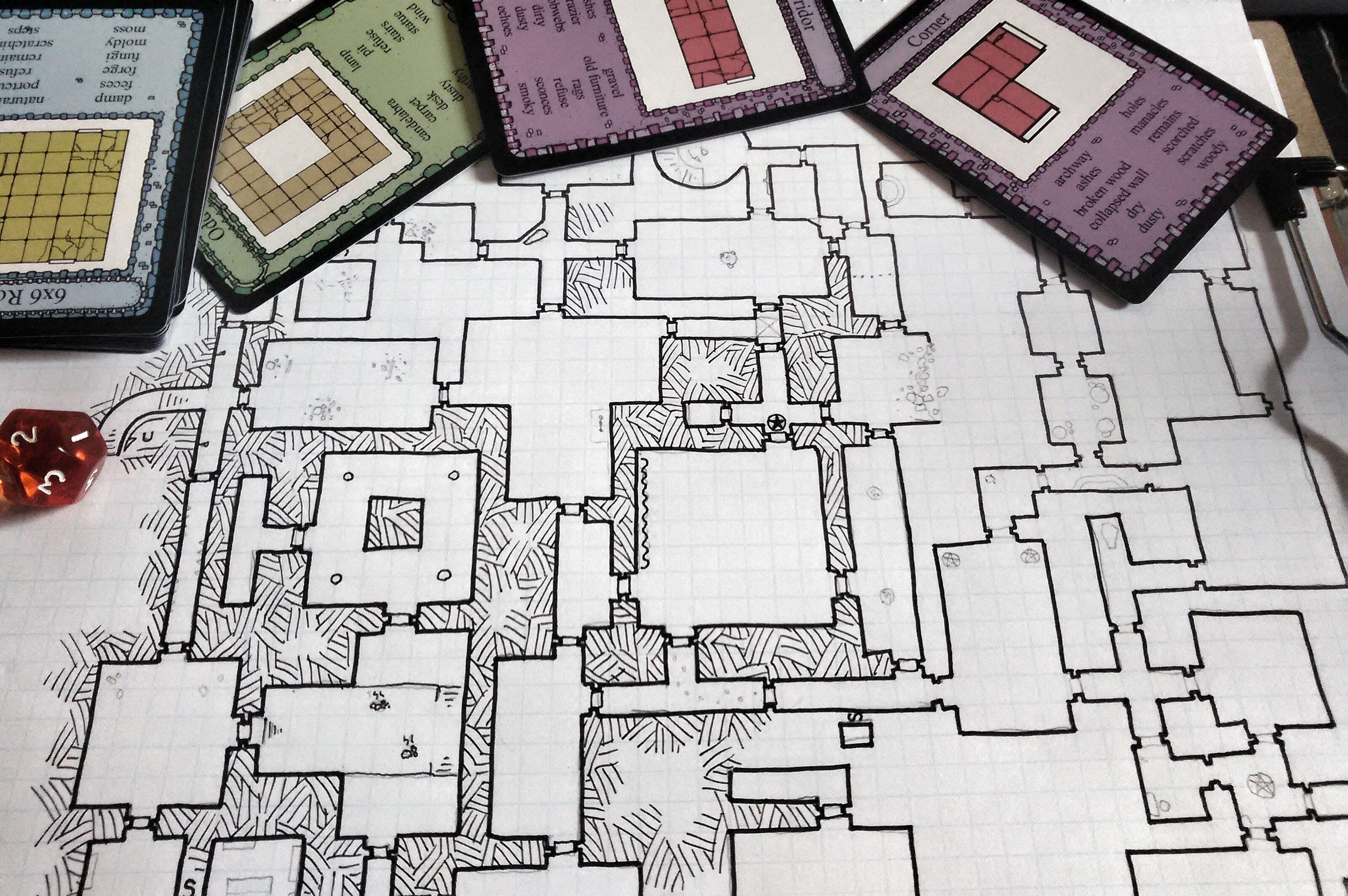 Tuesday Map The Architect S Dungeon Working With The