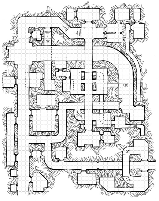 The Giants' Halls (map 1)