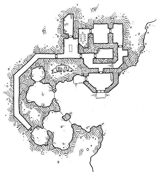 Rhinoceros Containment Caves of the Iron Overlord (no grid)