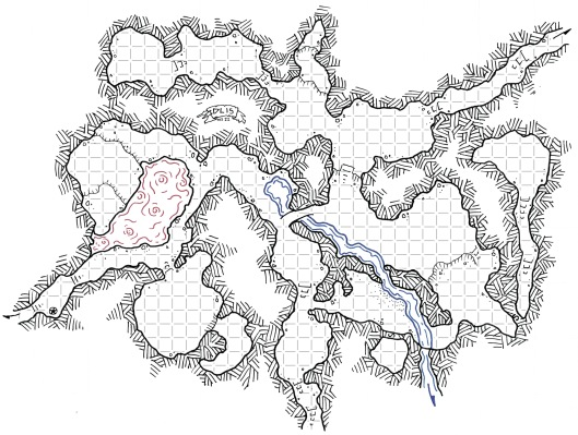 Christina's Caves (with grid)