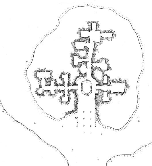 Three-Branched Barrow (no grid)