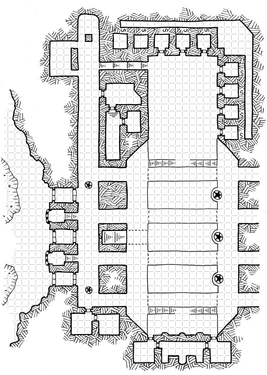 The Giant's Halls (map 3)