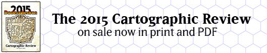 2015 Cartographic Review now on sale!