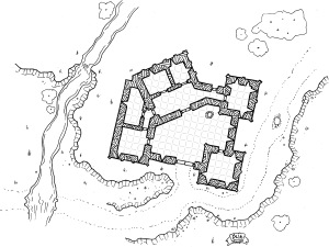 Roadside Fortress (simple grid)