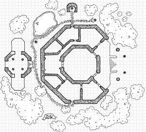 Temple of Chag (with grid)