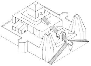 Zigurat Exterior