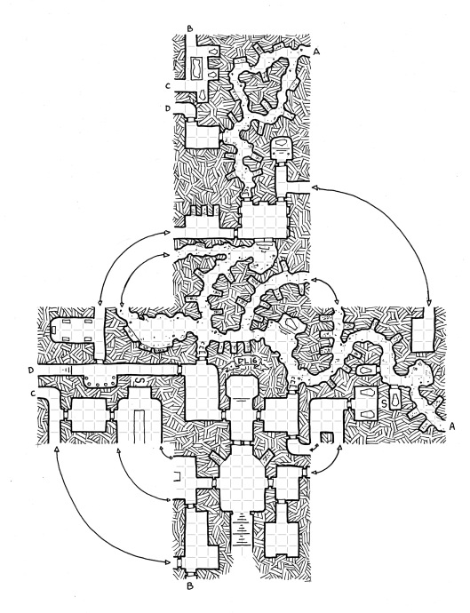 The Lost Ossuary (with grid)