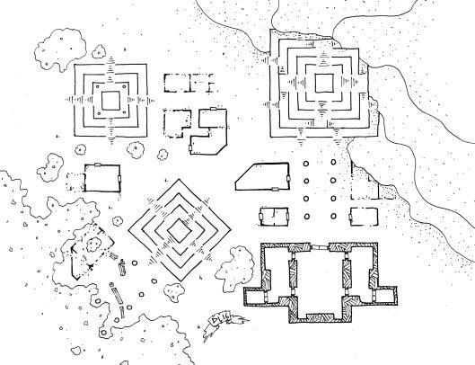 Pyramid Complex Ruins