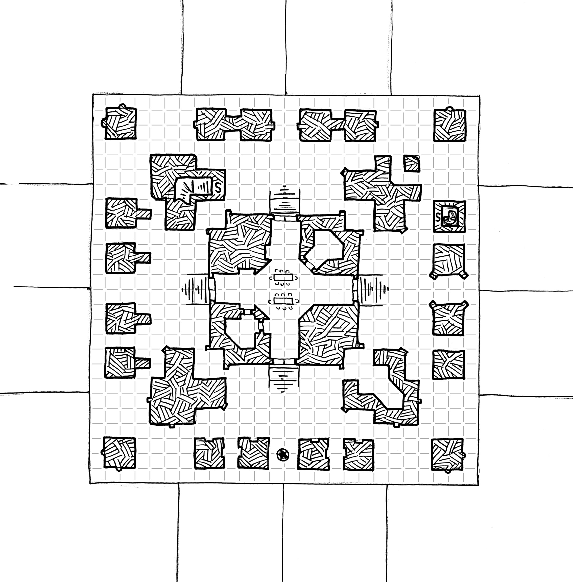 temple of the four gods dyson s dodecahedron temple of the 4 gods rooftop
