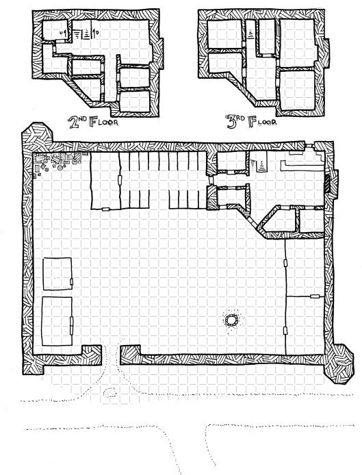 Caravanserai (with grid)