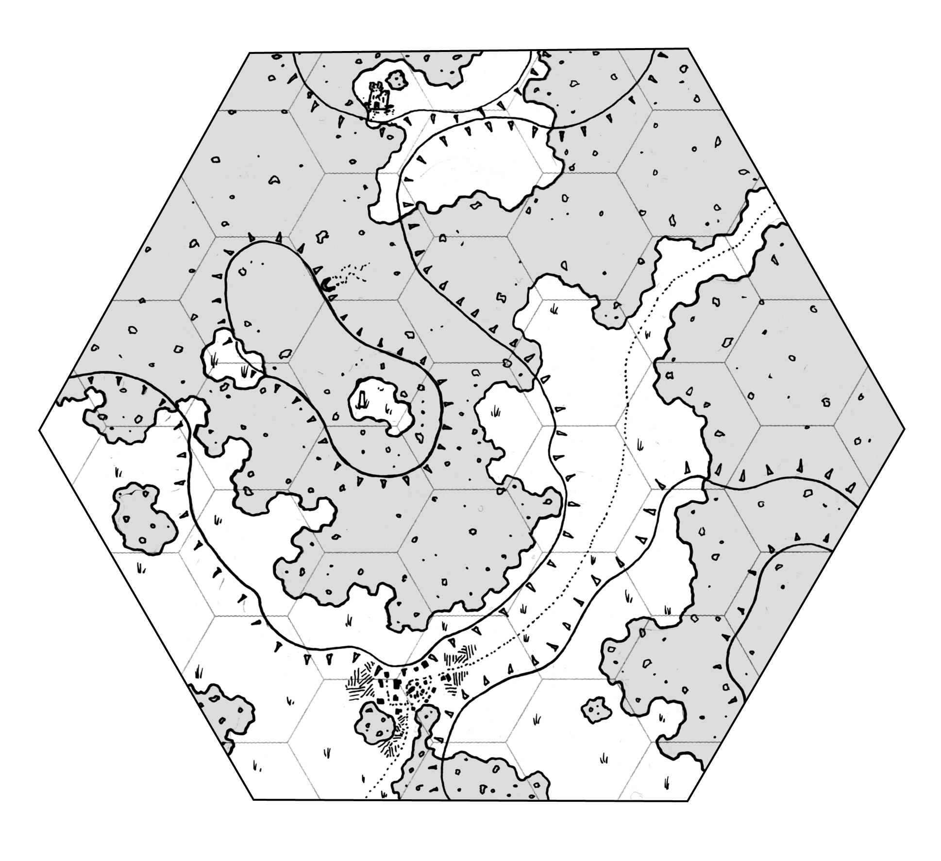 hex map paper