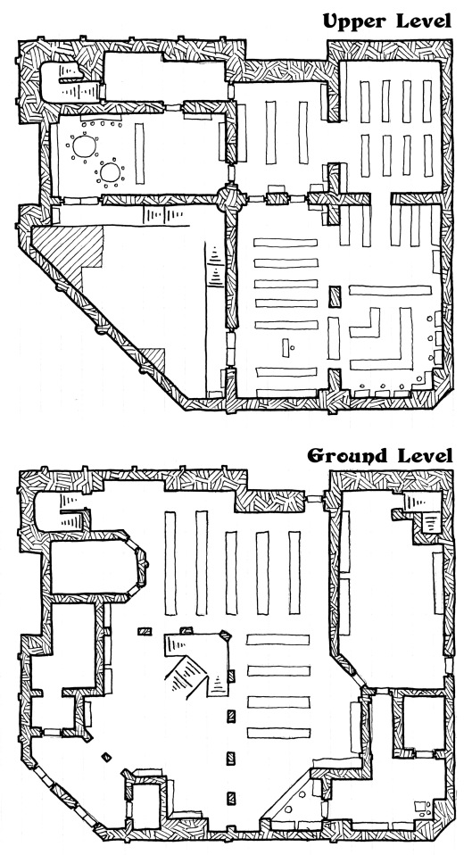 The Grand Library (sans grid)