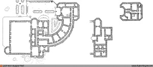 Two Level Mansion Map