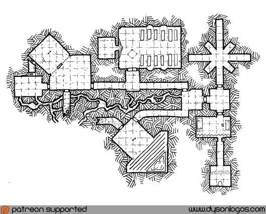 The Octagonal Temple (Dungeons)