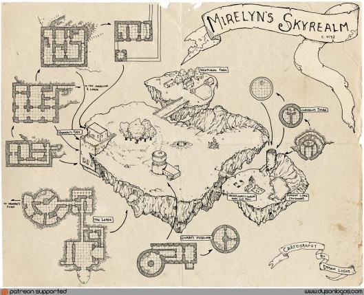 Mirelyn's Skyrealm Complete - Colour