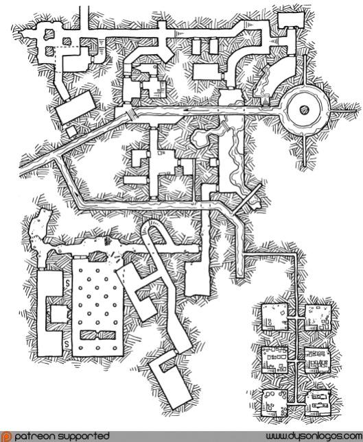 My Private Jakalla - Map 1F (no grid)