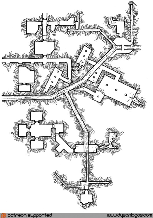My Private Jakalla - Map 1H (no grid)