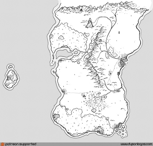 Stutheithland and the Goliath Isle