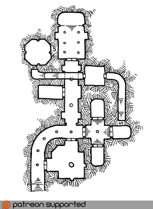 Crypt of the Scarlet Wolf (no grid)