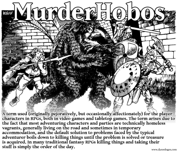 Image result for murderhobo