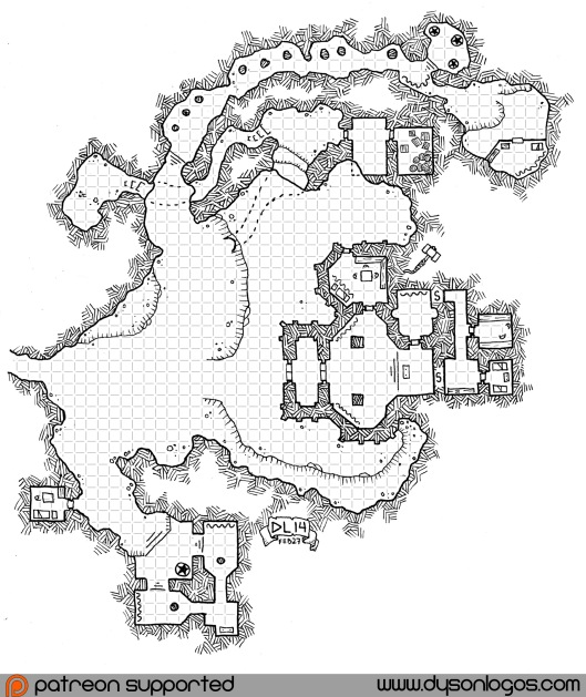 Three Underworld Temples (with grid)