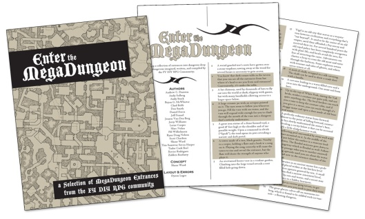 Enter the Megadungeon (Click for PDF)