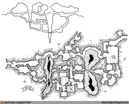 Lair of the Harpy Sorceresses (no grid)