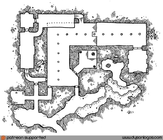 Hall of the Ancient Ones (no grid)