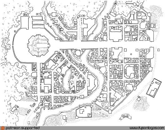 The Holy City of Guerras El Estat