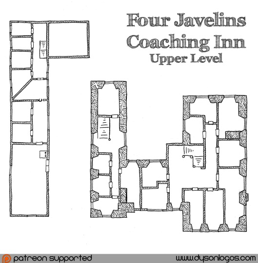 Four Javelins Coaching Inn - Upper Level