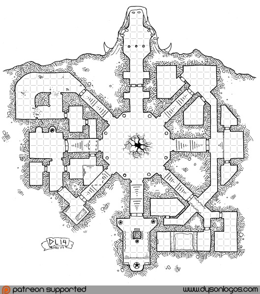 Serzen's Seven Stairs (with grid)