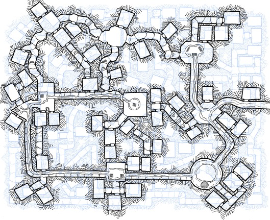 Dungeon Levels Overlaid