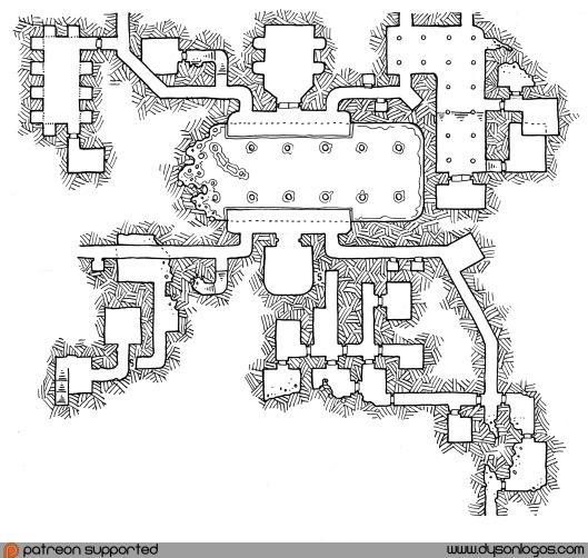 My Private Jakalla - Map 1P (no grid)