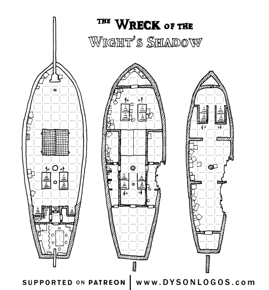 Wreck of the Wight's Shadow (with grid)