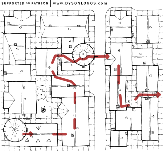 Third Story Run Route