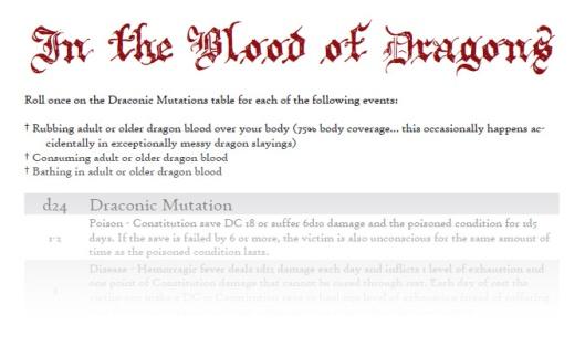 In the Blood of Dragons (click for PDF)