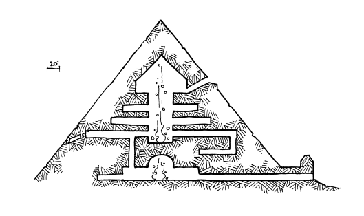 Great Pyramid Side View