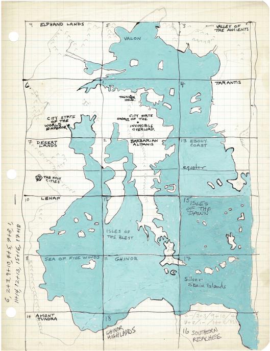 The Wilderlands Home Map
