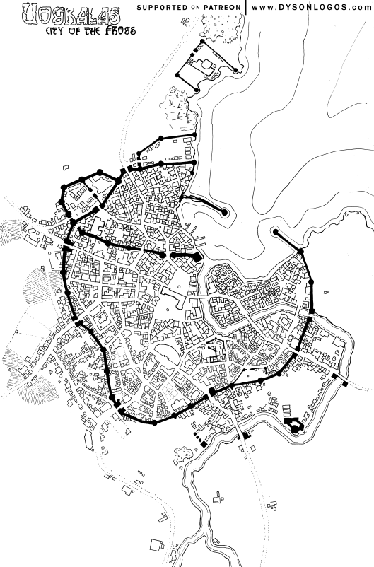 Uogralas, City of the Frogs
