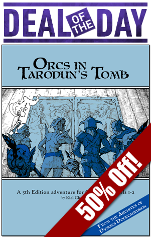 Orcs are the deal of the day!