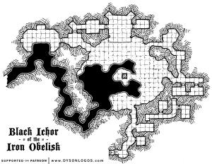 Black Ichor of the Iron Obelisk