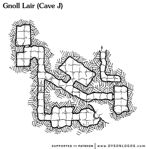 Gnoll Lair (Cave J)