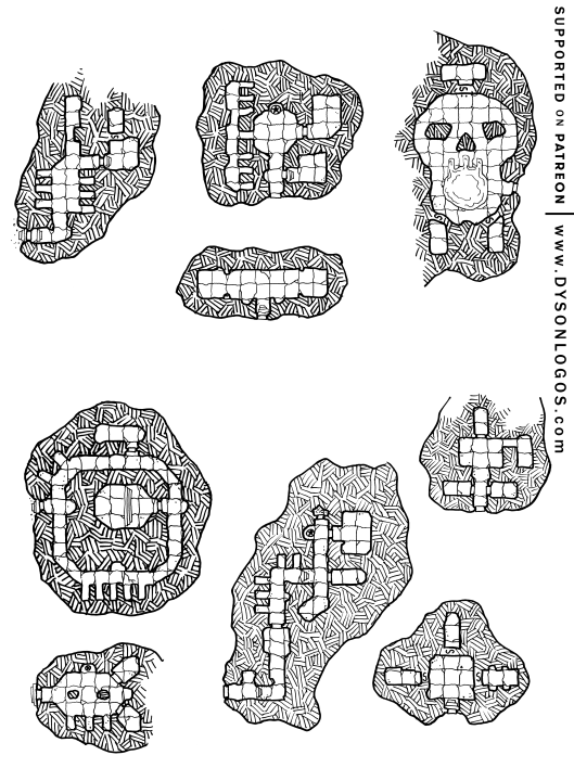 Barrow Mounds of the Lich and Famous III