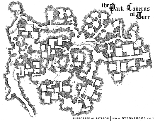 The Dark Caverns of Turr
